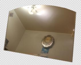 Зеркало Закат 540х780 фацет прямолинейный