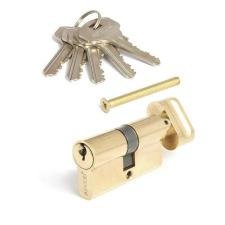 Цилиндр мех. Апекс SC-60-ZC англ.ключ с верт.