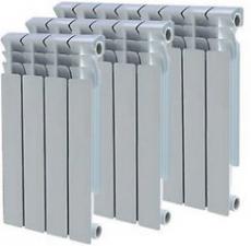 Радиатор отопления 4 секции Биметаллический секционный Faliano