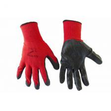 Перчатки красно-черные стрейч