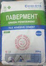 Клей для плитки Powerment (павермент) белый