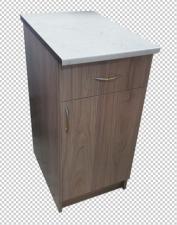 Стол рабочий кухонный с ящиком ширина 40см.(фасад 4 цвета)