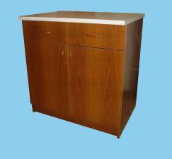 Стол рабочий кухонный с ящиками ширина 80см.