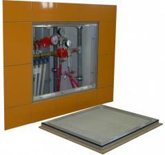 Ревизионный люк под плитку со съемной дверцей серия Контур
