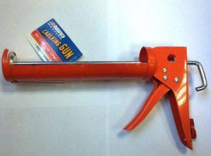 Пистолет для герметиков Abro оранж. полукорпусной