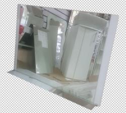 Зеркало Азалия 100х700см бел. 595-01