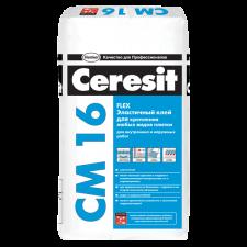 Клей для плитки Ceresit CM 16 25кг