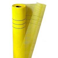 Сетка армир. строительная 5х5мм универс. желтая Walls