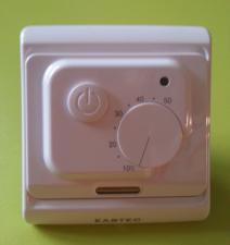 Терморегулятор для теплого пола Eastec (ИСТЭК) E 7.36 (3,5кВт)  с 2 датчиками температуры