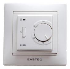 Терморегулятор Eastec E-30 скр. уст. 3,5кВт белый механич.
