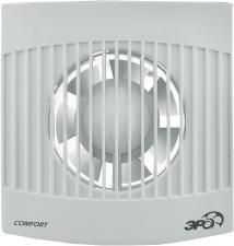 COMFORT 4C-01, Вентилятор осевой D100 с обратным клапаном, сетевым кабелем и выкл/