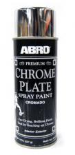 Краска-спрей, аэрозоль ABRO Premium хром 317