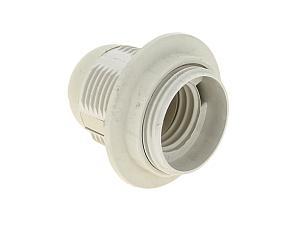 Патрон Е27 подвесной пластик с кольцом