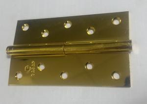 Петля Сазар 125х70х2,5мм золото (пара)