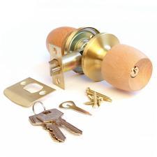 Ручка-замок  598-01 G матовое золото-бук/дуб
