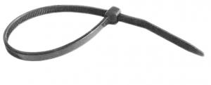 Хомут-стяжка  черный (1шт.) в ассорт.