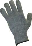Перчатки х/б серые утепленные