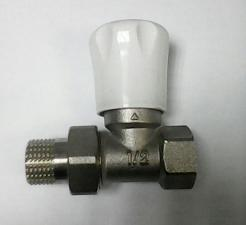 Клапан для радиатора прямой 1/2 FM