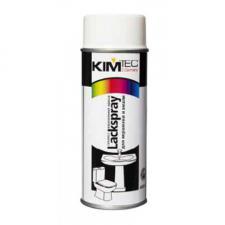 Kim Tec / Ким Тек краска спрей для керамики, эмали и быт. техники белая 400мл