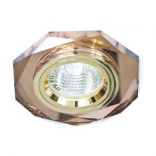 Светильник потолочный, софит Feron 8020-2 MR16-S G5.3 50W коричн-золото