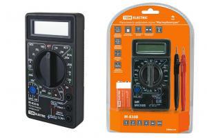 "Мультиметр цифровой М-830B TDM ""Мастер Электрик"""