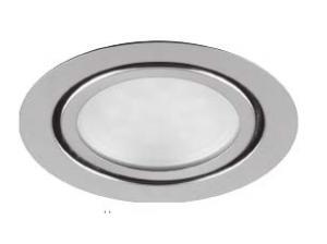 Встраиваемый мебельный светодиодный светильник LN7 3W 4000K D70x20мм