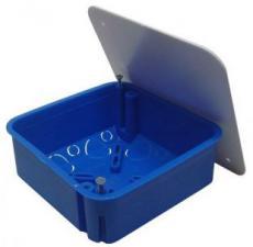 Коробка распределительная скр. установки 100х100х50мм в бетон 10160