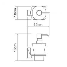 Дозатор жидкого мыла Leine К-5099
