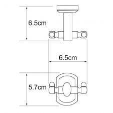 Крючок двойной Oder К-3023D