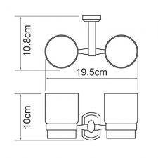 Подстаканник двойной Oder К-3028D
