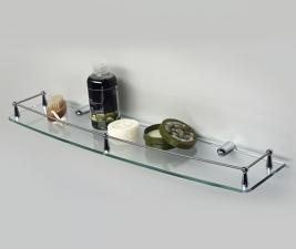 Полка стеклянная К-555