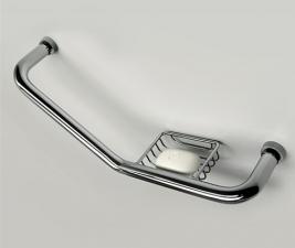 Поручень для ванны с мыльницей К-1077