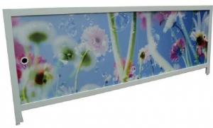 Экран для ванны 1,5м Цветочная фантазия