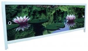 Экран для ванны ванну 1,7м Водная лилия