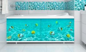 Экран под ванну 1,7м Подводная одиссея