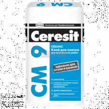 Клей для плитки Ceresit CM9 внутр. работы 25 кг.