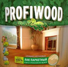 Лак для паркета Profiwood 0,7кг глянцевый