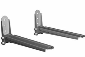 Кронштейн для СВЧ Vobix VX 40S серый до 40кг