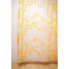 Шторка для ванной 180х180 WS-804 (A-2) желтая 104051