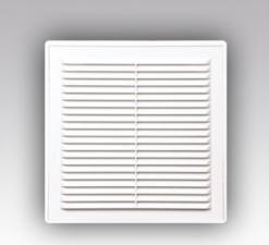 Решетки вентиляционные с сеткой в рамке