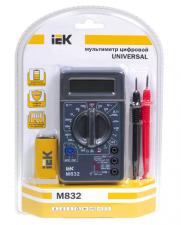Мультиметр цифровой, тестер М-832 IEK