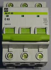 Автоматы (автоматический выключатель) ASD 3Р 40/50/63A