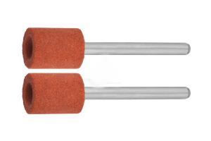 Мини насадка цилиндр Зубр Ф9,5х12.7мм Р120 (2шт) 35911