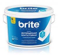 Краска в/д Brite PROF интер.влагост. глубокоматов