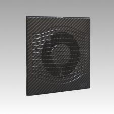 Вентилятор SLIM 4C black carbon D100 обратн. клапан