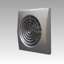 Вентилятор AURA 4C gray metal D100 обратный клапан