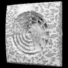 Вентилятор AURA 5C white design D125 обратный клапан