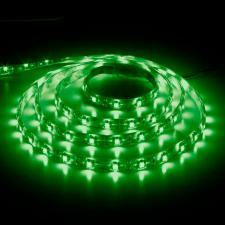 LED лента LS603 4,8W/м 5метров зеленая с коннектором