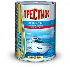 Лак яхтный Престиж 0,9л алкидно-уретан. (матовый/глянец)
