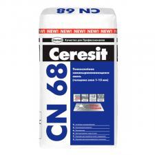 Самовыравнивающая смесь, самонивелир Cerresit CN68 1-15мм 25кг